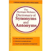 原版工具书 韦氏同反义词典 The Merriam-Webster Dictionary of Synonyms an