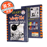 小屁孩日记14 英文原版 Diary Of A Wimpy Kid 14: Wrecking Ball 杰夫金尼 6-