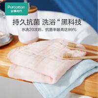 全棉�r代毛巾�棉洗�家用浴巾吸水速干不掉毛洗澡成人女男大毛巾2件�b