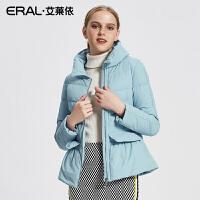 ERAL/艾莱依2017秋冬新款韩版羽绒服女短轻薄羽绒上衣12109-FDAA