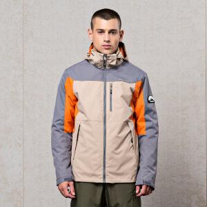 361男装冲锋衣三合一冬季绒里运动风衣361度防风外套男运动服装