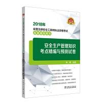 2018年全国注册安全工程师执业资格考试配套辅导用书 安全生产管理知识考点精编与预测试卷