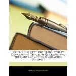 【预订】Cicero: The Orations Translated by Duncan, the Offices