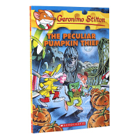 老鼠记者 英文原版 Geronimo Stilton:The Peculiar Pumpkin Thief 进口童书