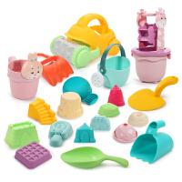儿童沙滩玩具车套装大号铲子桶玩沙工具沙漏男女孩婴儿玩具