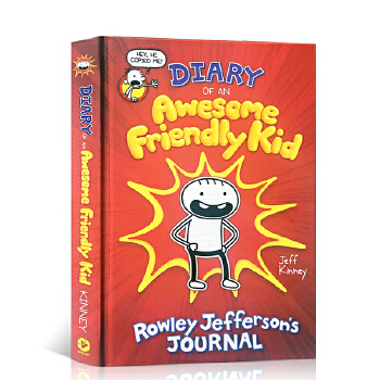 英文原版 Diary of an Awesome Friendly Kid: Rowley Jefferson's Journal小屁孩日记番外篇 杰夫金尼 Jeff Kinney 儿童漫画小说