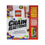 英文原版 Klutz Lego Chain Reactions 乐高创造令人惊奇的可动机械 手工DIY玩具操作书 小学
