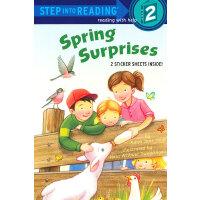Spring Surprises (Step into Reading, Step 2) 春天的惊喜 ISBN 9780