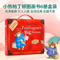进口英文原版 Paddington's Big Suitcase 帕丁顿熊大开本套装 4-8岁