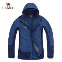 CAMEL骆驼 户外秋冬新品 保暖两件套 男款休闲冲锋衣