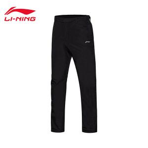 李宁棉裤男士夹棉裤类训练系列防风透湿保暖冬季运动裤AKMM021