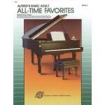 【预订】Alfred's Basic Adult Piano Course All-Time Favorites, B
