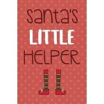 预订 Santa's Little Helper: Notebook Journal Composition Blan