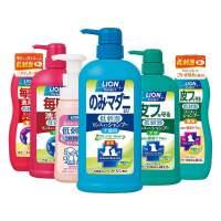 新款LION�{王日本�M口�狗��物沐浴露浴液�洗澡泰迪幼犬幼�香波