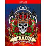 预订 Skull Tattoo Adult Coloring Book: Stress Relieving Desig