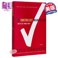 【中商原版】清单革命 阿图 葛文德医生 英文原版 The Checklist Manifesto