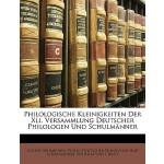 【预订】Philologische Kleinigkeiten Der XLI. Versammlung Deutsc