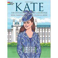 按需印刷 Kate, the Duchess of Cambridge Royal Fashions Coloring