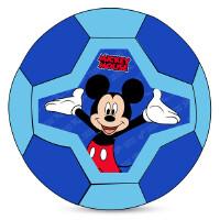 哈哈球迪士尼3号酷炫足球儿童充气玩具球练习足球拍拍球 送打气筒 颜色*