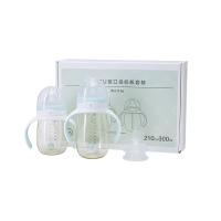 【3.28网易严选超品日 每满100减20】婴儿奶瓶宽口径PPSU奶套装(2支装)