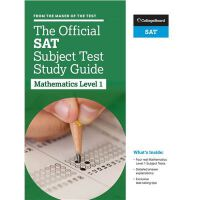 The Official SAT Subject Test in Mathematics Level 1 Study