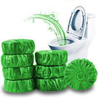 40个装绿泡泡洁厕宝蓝泡泡洁厕灵厕所除臭味球洁厕块马桶固体清洁剂