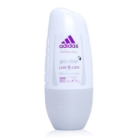 阿迪达斯(Adidas) 女士走珠香水香体止汗露液滚珠净怡Clear50ml 5183