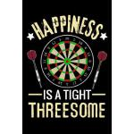 预订 Happiness is a Tight Threesome: Darts Scorebook 100 dart