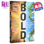 【中商原版】创业无畏 英文原版 Bold:How to go big Peter H Diamandis Simon