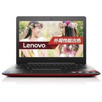 联想(Lenovo小新出色版i2000 14英寸笔记本电脑(i7-5557U 4G 8G SSHD+500G HD5500核显 Win8.1)限量版红色