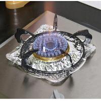加厚煤气灶保洁盘10片锡纸盘 炉灶防油防火保洁铝箔纸盘耐高温防油盘清洁垫