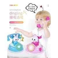 宝宝玩具电话机复古婴儿儿童早教音乐1-3岁0小孩6-12个月男女