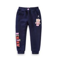【超值热卖】童装女童棉裤冬装2018新款韩版运动加绒长裤中大童女保暖收口裤