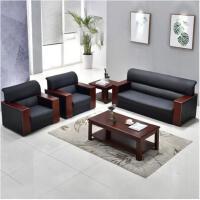 美立居工坊商务会客接待办公沙发MLJ-SF3014 沙发茶几组合