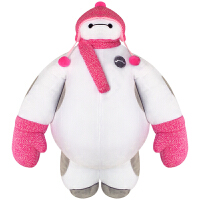 【当当自营】迪士尼毛绒玩具 超级陆战队 正版快乐大白戴帽毛绒玩具布娃娃玩偶1#(约33.5cm)