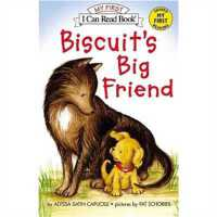 小饼干狗 英文原版 绘本汪培�E书单推荐 0-3岁 Biscuit's Big Friend