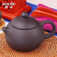 单个泡茶壶 创意旅行茶水手抓壶套装 紫砂茶壶 家用陶瓷功夫茶具