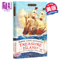 【中商原版】金银岛 英文原版小说文学 英文版 英文原版书 Treasure Island Robert Louis S