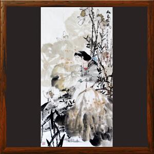 《秋色堪嶙》李志远-一级美术师【8ML2688】