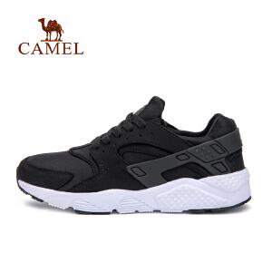【每满200减100】camel骆驼情侣款运动鞋 男女休闲低帮系带跑步鞋