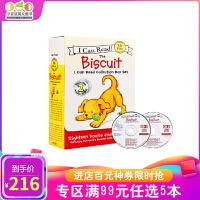 进口英文原版 I Can Read Biscuit 饼干狗18册+2CD平装 4-8岁