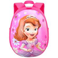 迪士尼(Disney)苏菲亚儿童书包 轻便卡通小童双肩背包 幼儿园学前班书包 BP9018B 玫红 当当自营
