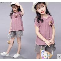 儿童两件套装女童童装韩版时尚户外新款时髦11大童女装12周岁13女孩15休闲百搭