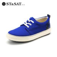 St&Sat/星期六秋季牛皮运动系带户外休闲时尚单鞋男鞋SS51129009