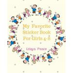 预订 My Favorite Sticker Book For Girls 4-8: My Favorite Stic