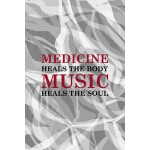 预订 Medicine Heals The Body Music Heals The Soul: Rock Noteb