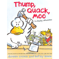 Thump, Quack, Moo: A Whacky Adventure [Hardcover]嘻哈农场:怪诞冒险[