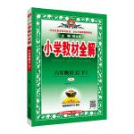 2019春 小学教材全解 六年级语文下 人教版(RJ版)