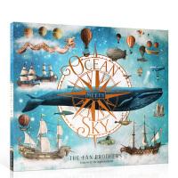 【发顺丰】英文原版Ocean Meets Sky 海天相接 2019年凯特格林威大奖绘本 范氏兄弟Terry Fan
