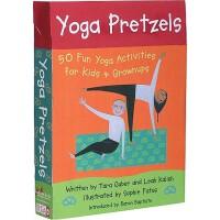 【预订】Yoga Pretzels: 50 Fun Yoga Activities for Kids & Grownu